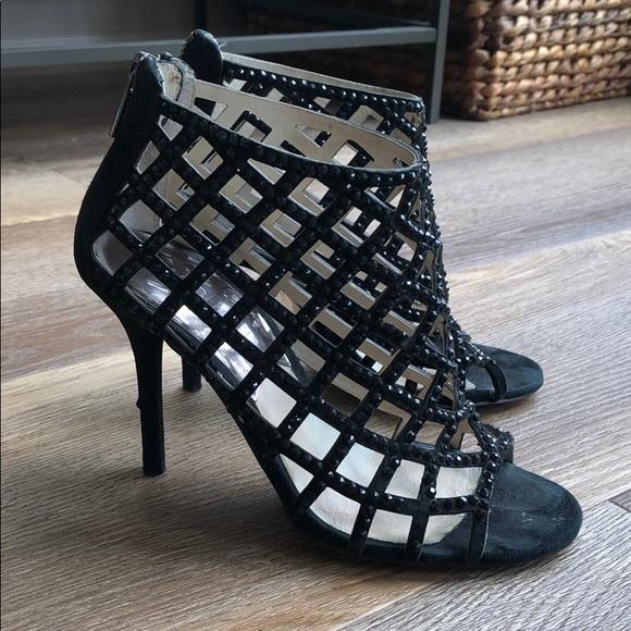 Michael Kors size 5 black heels.